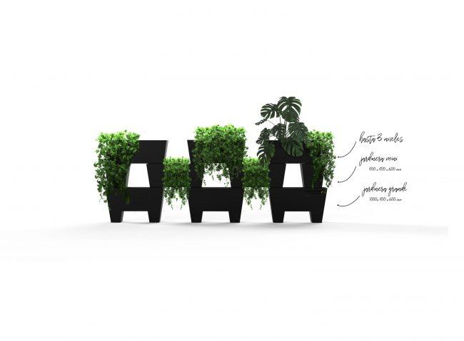 jardineras separadores