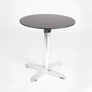 mesa exterior aluminio